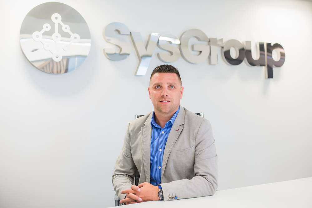 Adam Binks, CEO of leading cloud hosting & managed services provider, SysGroup