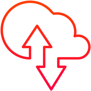 Cloud migration Icon