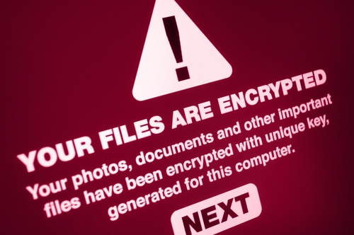 Your Files are Encrypted Sign